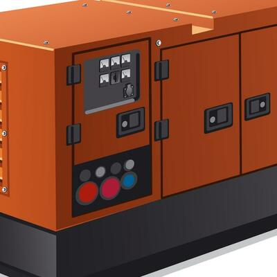 Diesel Powered Silent Generator 22kW